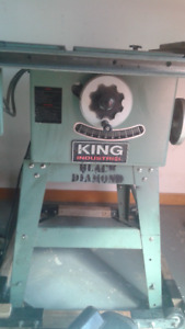"10""  King industrial  table saw"