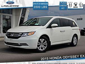 2015 Honda Odyssey EX**CAMERA*8 PASSAGERS*DVD*PORTES ÉLECTRIQUES