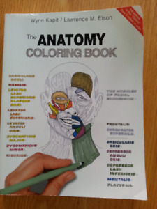 The Anatomy Colouring Book 3rd edition unused