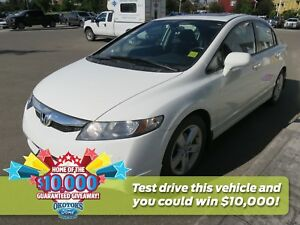 2010 Honda Civic Sport Budget sedan with one previous owner