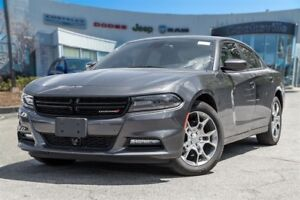2016 Dodge Charger SXT AWD, COLLISION WARNING, ROOF