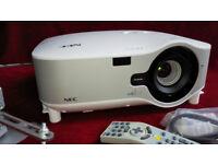NEC NP2150 Projector, 4200 ANSI Lumen brightness, Wi-Fi, etc.