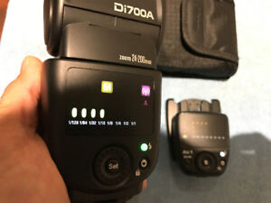 Nissin Di700A Flash Kit with Air Commander for Sony cameras