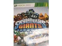 Skylanders Giants XBox 360 game with one Giant Figure.