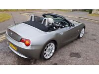 2003 BMW Z4 2.5i petrol convertible- grey - long MOT