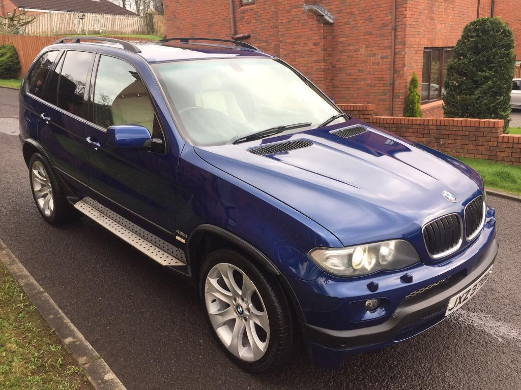 2005 bmw x5 4.8 is high spec damaged repairable   in dunmurry