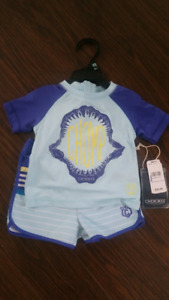 NWT 24 Months Baby Toddler Swimsuit Set