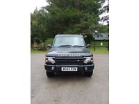 Land Rover Discovery TD5 Landmark. Black 04 reg, low mileage , only 2 owners from new.