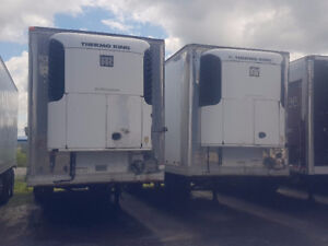 refrigerated pup trailers for sale, lease or rent