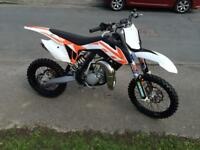 Ktm 85 sx Very low hrs 12mth old immaculte