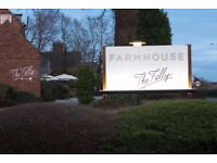 Sous Chef -The Farmhouse at Mackworth, Derby
