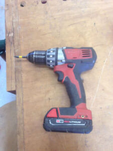 Milwaukee M18 Drill and Battery