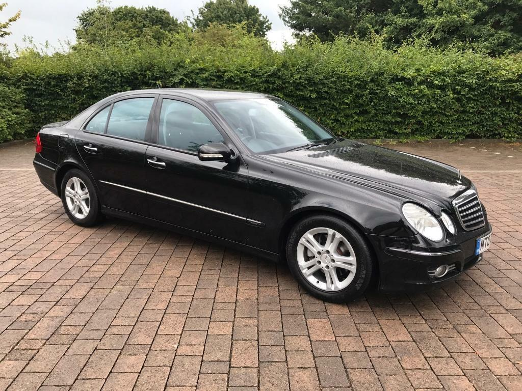 2007 mercedes benz e class 2 1 e220 cdi avantgarde 4dr 129k miles 12 months mot a b c ml amg. Black Bedroom Furniture Sets. Home Design Ideas