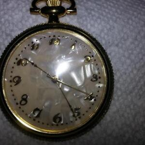 Pocket Watch - Mother of Pearl background