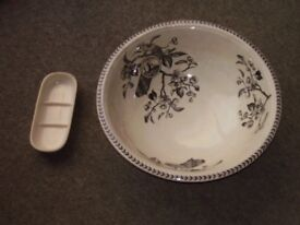 Vintage Transferware Bowl from wash stand