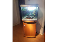 AQUA ONE FISH TANK AND STAND FOR SALE,,FULL SET UP