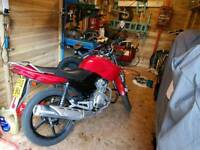 Yamaha Ybr 125 2012 low millage very well priced