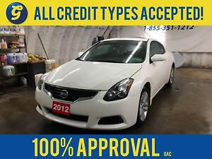 2012 Nissan Altima 2.5S*COUPE*POWER SUNROOF*LEATHER*PUSH BUTTON
