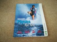 AS & A2 level Physics Advanced Physics for you - Perfect condition