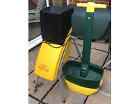 ALKO New Tec 1400 Garden Shredder & Evergreen Lawn Seed Spreader