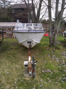 18' Springbok Aluminum boat with Mercury 40 hp outboard