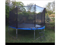 14 ft trampoline with full netting