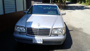 1995 Mercedes 500S  --  for sale or trade