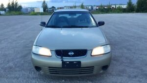 REDUCED! 2002 Nissan Sentra. Low km, mint condition! Need gone!