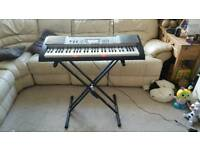 Casio Keyboard (lk-230) with stand and original charger