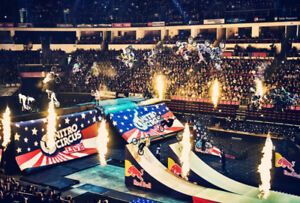Two Nitro Circus Tickets - Friday Aug 4 Section 105   Row 1