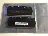 2 x Corsair Vengance CMZ8GX3M2A1866C9 (8 GB, PC3-15000, DDR3 RAM, 1866 MHz)