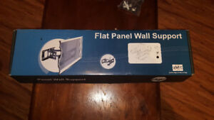 Flat panel wall support still in box