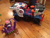 Imaginext Supernova Battlerova and Imaginext Alien Tentaclor £35