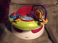 Mamas and papas snug with play tray