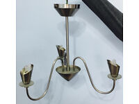 3 bulb ceiling light in chrome, bargain at only £10, not to be missed, it comes with 3 G9 bulbs