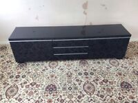 IKEA television unit and matching top box