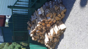 Seasoned firewood...at least 1/2 cord