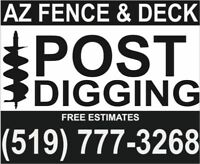 Post Hole Digging & Fence Repairs