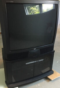 "36"" Tv and Tv Stand for Sale"