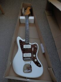 Squire VM Vintage Modified Jazzmaster with Staytrem Bridge for sale - mint condition