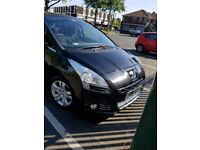 7 seater peugeot 5008 2.0 exclusive top spec full glass roof new mot cambelt,water pump