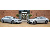 Wedding Car Hire from as little as £125.00 . Choose from our fleet of Luxury Mercedes.