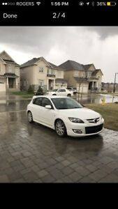 Mazdaspeed 3 certified, perfect condition.