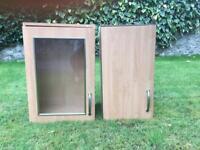 2 Wall kitchen units