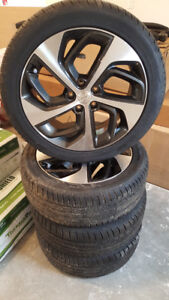 "19"" Hyundai Rims and Tires, like new, set of 4"