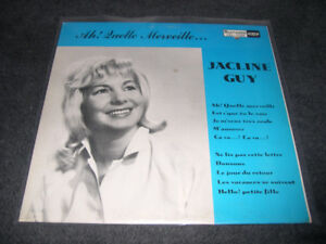 Jacline Guy - Ah! quelle merveille (1964) LP Pop yéyé québecois