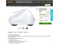 Halfords All Weather Single Bike Cover for sale