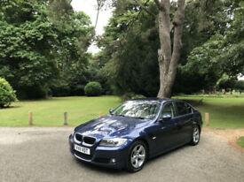 2011 BMW 320 2.0 Turbo Diesel 170 BHP EfficientDynamics 4 Door Saloon Blue