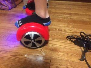 Self balancing scooter / hoverbord