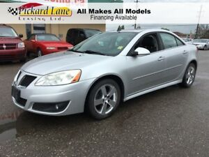 2010 Pontiac G6 $89.69 BI WEEKLY! $0 DOWN!! LEATHER! SUNROOF! V6